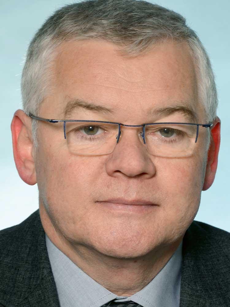Dr. Uwe Dyk, Mitglied der Geschäftsleitung, Karl Schlecht Stiftung